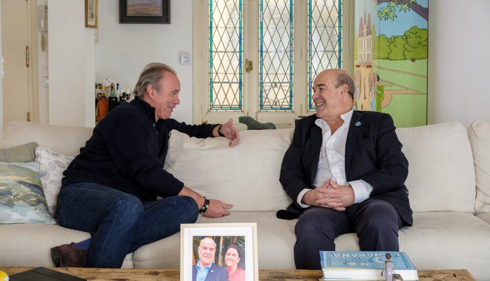 Entrevista a Antonio Resines en el programa de Bertín Osborne.